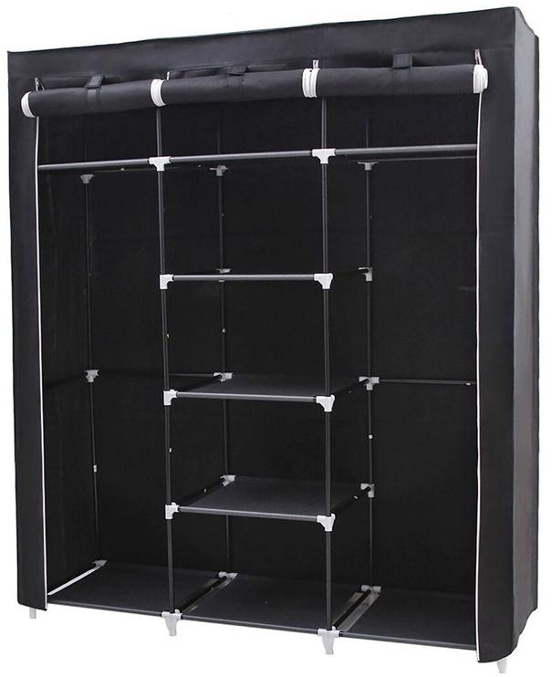 Skapis Songmics Black, 150x45x175 cm