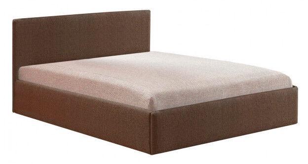 Gulta MN Soft, brūna, 200x140 cm, ar matraci