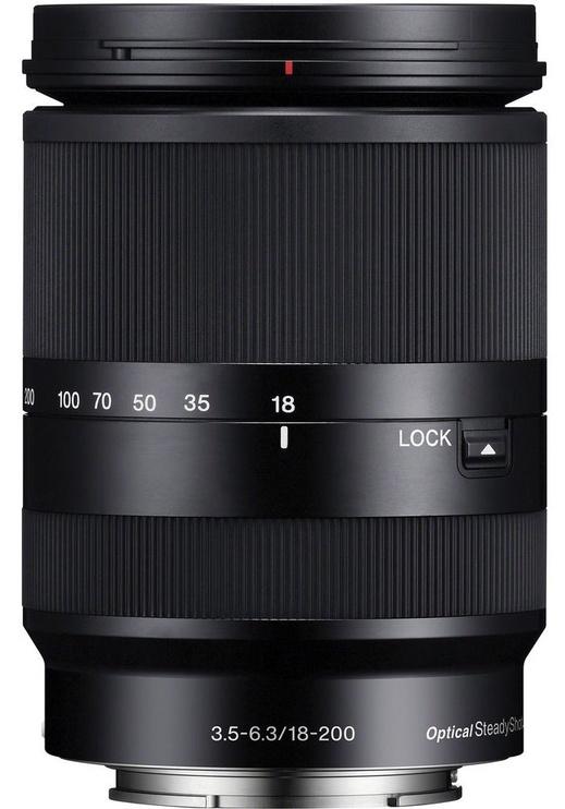 Objektiiv Sony E 18-200/3.5-6.3 OSS Black, 460 g