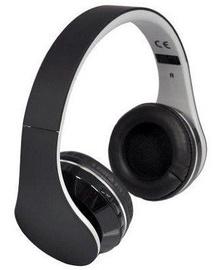 Ausinės Rebeltec Bluetooth Headphones Pulsar Black