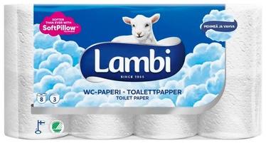 Tualetinis popierius Lambi, 3 sl., 8 vnt.