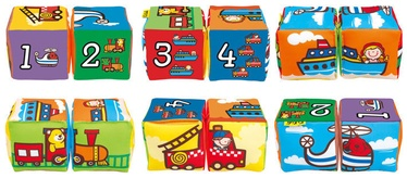 K's Kids Match & Sound Blocks Vehicles KA10756