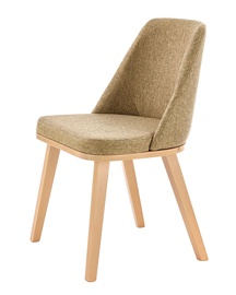Halmar Pueblo Chair Honey Oak Beige