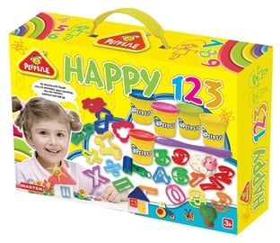 Modelino rinkinys Peipeile Dough Happy 123 Set 6805