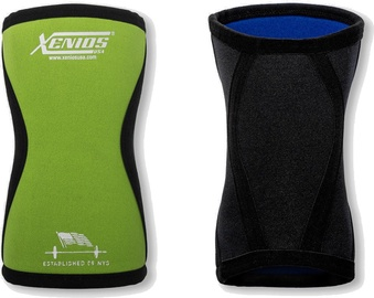 Xenios Ergo Compression Knee Guard 5mm Fluo Green S