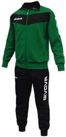 Givova Visa Black Green L