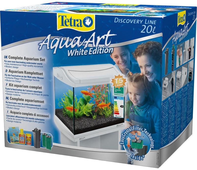 Tetra AquaArt Aquarium 20L White