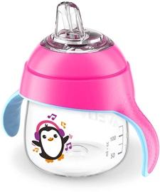 Philips Avent Sip No Drip 200ml Pink SCF746/03