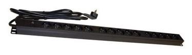 A-Lan Surge Protector 15 Outlet Black 1.8m