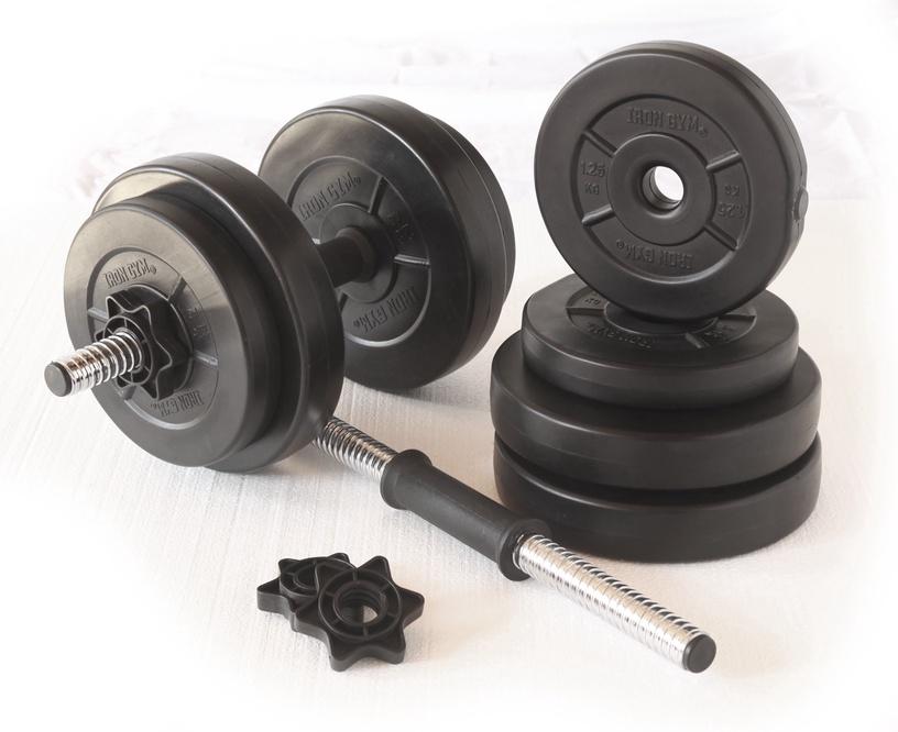 Raskuste komplekt Iron Gym V15, 15 kg