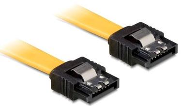 Delock Cable SATA/SATA Yellow 0.1m