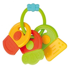 Canpol Babies Keys Rattle With Soft Bite Teether Assort