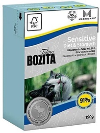 Bozita Sensitive Diaet & Stomach Wet Food 190g