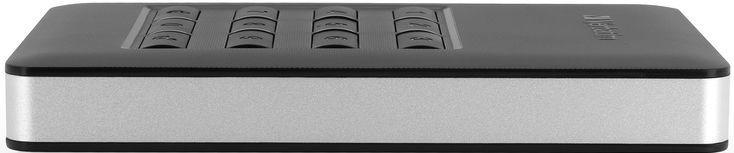 Verbatim Store 'n' Go Secure G1 Portable HDD w/ Keypad Access 256GB