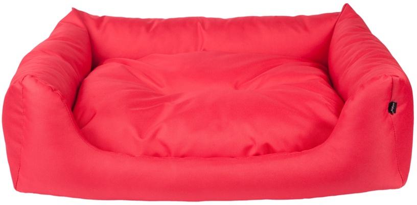 Кровать для животных Amiplay Basic, красный, 680x560 мм