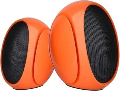 Omega OG117 2.0 Desktop Speakers Orange