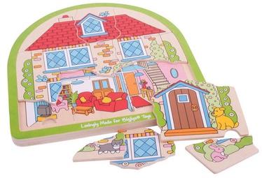 Bigjigs Toys House Arched Puzzle BJ588