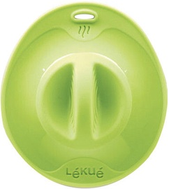 Lekue Transparent Suction Lid 32cm Green