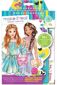 Make It Real Blooming Creativity Fashion Design Sketchbook