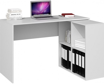 Top E Shop Corner Desk Malax White Matte