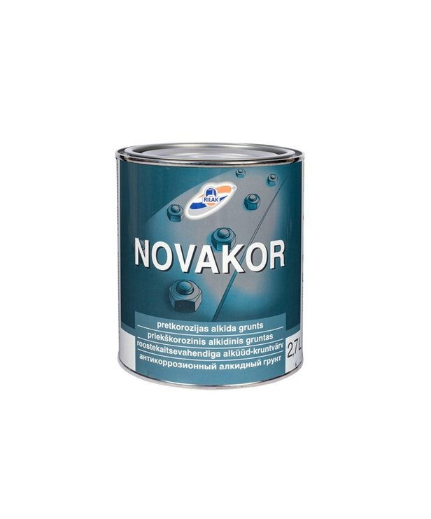 Gruntas Rilak Novakor, šviesiai pilkas 2,7 l