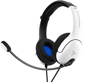 PDP LVL40 Over-Ear Gaming Headset White