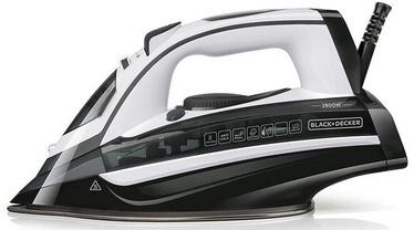 Утюг Black & Decker BXIR2802E, белый/черный