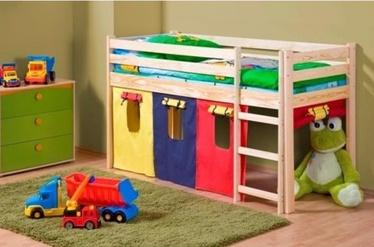 Vaikiška lova Neo pušies spalvos, 80 x 190 cm