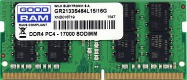 Goodram 16GB 2133MHz CL15 DDR4 SODIMM GR2133S464L15/16G