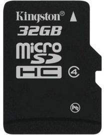 Kingston 32GB microSDHC Card Class 4
