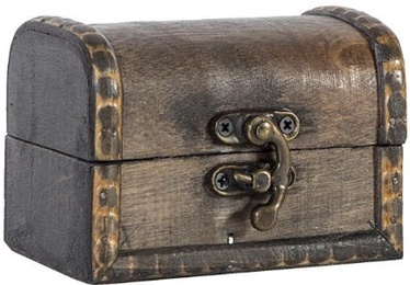 Home4you Wooden Chest BAO 10x7xH7cm Antique Gray