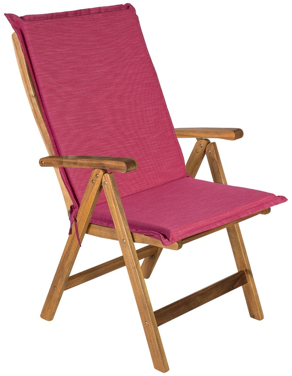 Подушка для стула Home4you Summer Pink, 48x115x4.5 см