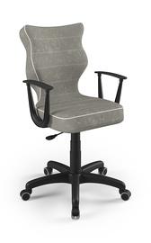 Детский стул Entelo Norm VS03, черный/серый, 400x370x1010 мм