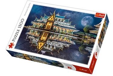 Puzle Trefl Wat Pa Phu Kon Thailand 26141, 1500 gab.