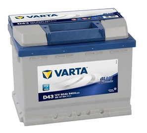 Varta Blue Dynamic D43 60Ah