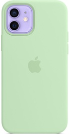 Apple iPhone 12/12 Pro Silicone Case with MagSafe Pistachio