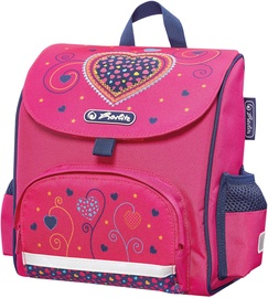 Kuprinė Herlitz Mini Softbag Pink Hearts 128042