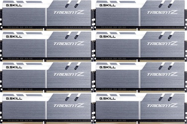 G.SKILL Trident Z Silver/White 64GB 3600MHz CL16 DDR4 KIT OF 8 F4-3600C16Q2-64GTZSW