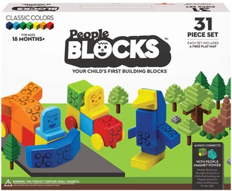 Konstruktorius People Blocks Classic Colors, 31 vnt.
