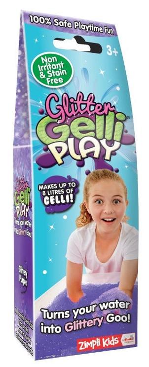 Gelinių figūrų gaminimo rinkinys Zimpli Kids Gelli Play Glitter Purple ZK5895