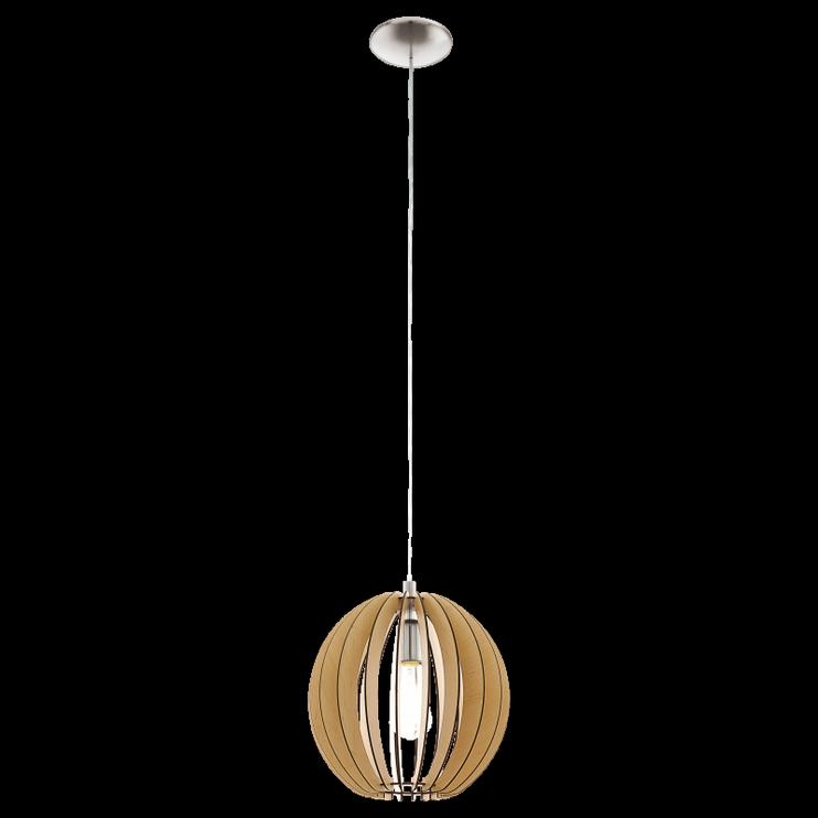 Pakabinamas šviestuvas Eglo Cossano 94764, 1 x 60 W, E27
