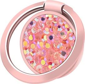Kronšteins Devia Ring Holder Diamonds 3 Gold/Pink