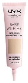 NYX Bare With Me Tinted Skin Veil 27ml Vanilla Nude