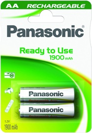 dca7f0e7940 Panasonic Evolta P-6E rechargeable battery 2 x AA 1900mAh