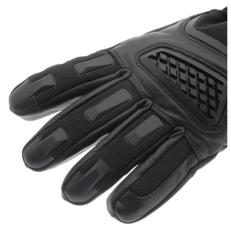 Glovii Heated Leather Motorcycle Gloves L