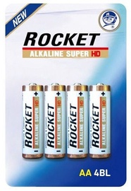 Rocket LR06HD-4BB AA Super HD Batteries 4x