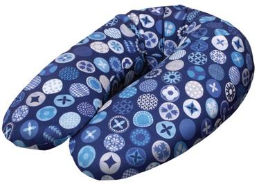 Ceba Baby Feeding Pillow Physio Multi Jersey Circles Blue