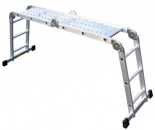 Besk Multifunctional Aluminium Ladder 3.7m 3x4