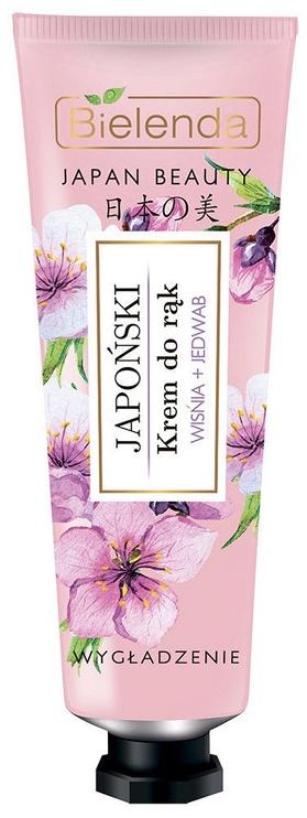 Rankų kremas Bielenda Japan Beauty Cream Cherry & Silk, 50 ml