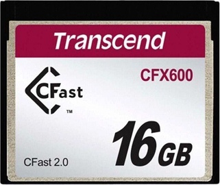 Mälukaart Transcend CompactFlash CFX600 16GB
